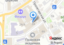 Компания «Стройлогистика» на карте