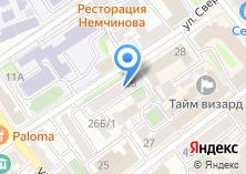 Компания «ТЕХСЕРВИС» на карте