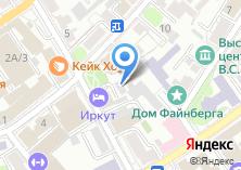 Компания «Юнипринт» на карте