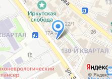 Компания «Хан-Бууза» на карте