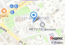 Компания «Иркутская брокерская контора» на карте
