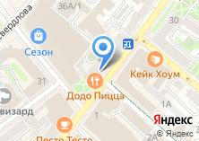 Компания «Тонус+» на карте