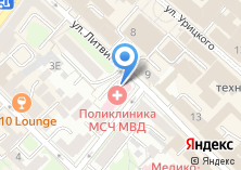 Компания «Поликлиника ГУВД Иркутской области» на карте