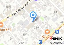 Компания «Восточно-Сибирская ДСКК» на карте