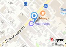 Компания «Юниаструм Банк» на карте