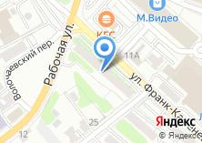 Компания «Вебсервис» на карте