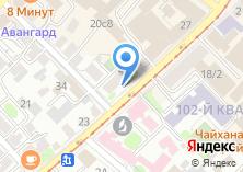 Компания «Адамас» на карте