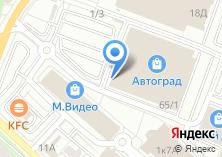 Компания «Маньчжурия» на карте