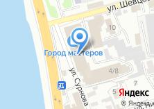 Компания «Академия дверей» на карте