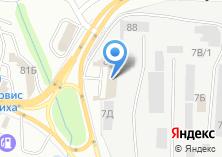Компания «Аксель-Моторс» на карте