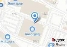 Компания «Александрийские двери салон межкомнатных дверей» на карте