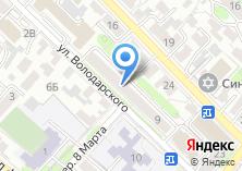 Компания «Техноэксперт» на карте