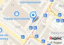 Компания «36 и 6» на карте