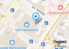 Компания «Чистофф» на карте