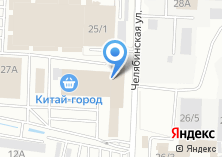 Компания «Уральский технический центр» на карте