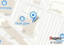 Компания «Кордсиб» на карте