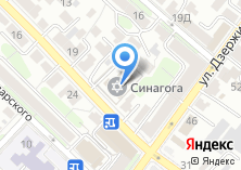 Компания «Еврейская община» на карте