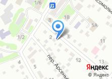 Компания «Первый гастроном» на карте