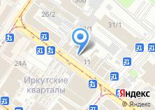 Компания «Блеск» на карте