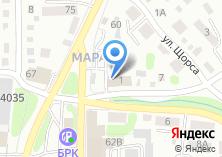 Компания «Свисхоум» на карте