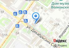 Компания «Строящееся административное здание по ул. Декабрьских Событий» на карте