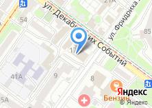 Компания «Строящееся административное здание по ул. Фридриха Энгельса» на карте