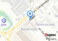 Компания «Строящееся административное здание по ул. Багратиона» на карте