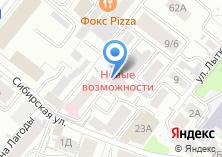 Компания «ТЕЛЕЦЕНТР ЭФИРНО-СПУТНИКОВОГО ТЕЛЕВИДЕНИЯ» на карте
