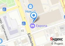 Компания «Байкальская Виза Авиа» на карте