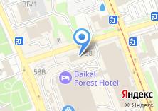 Компания «*techno plane*» на карте