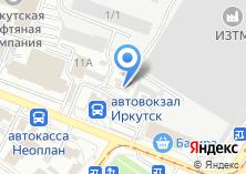 Компания «Иркутский букинист» на карте