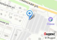 Компания «Иней» на карте