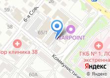 Компания «ИСТКОМПЛЮС» на карте