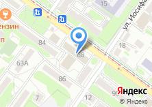 Компания «Иркутскгипродорнии» на карте