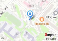 Компания «Сеть магазинов мяса» на карте