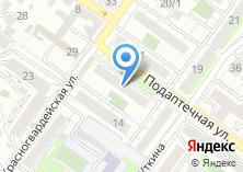 Компания «Светодизайн» на карте