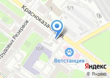 Компания «Служба ветеринарии Иркутской области» на карте