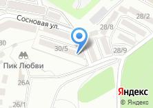 Компания «Ершовский» на карте