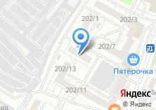 Компания «В Лазурном» на карте