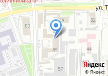 Компания «БайкалТек» на карте
