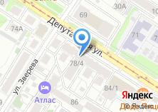 Компания «Fedra» на карте