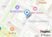 Компания «Декорель» на карте