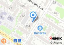 Компания «Веселая расческа» на карте