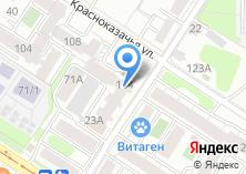 Компания «МаксиМебель» на карте