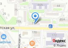 Компания «Пицца Домино» на карте