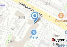 Компания «Астеп» на карте