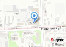 Компания «Иркутский промкомбинат облпотребсоюза» на карте