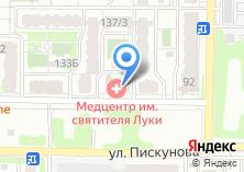 Компания «Строящееся административное здание по ул. Пискунова» на карте