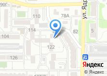 Компания «Акрос» на карте