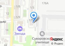 Компания «ВАИР-Сиб» на карте